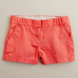 "J. Crew 3"" broken-in chino shorts"